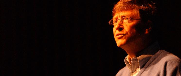 Frases de Bill Gates para se inspirar: imagem ilustrativa