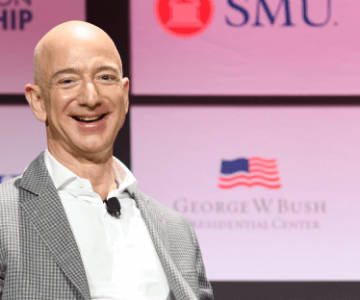 Frases de Jeff Bezos: imagem ilustrativa