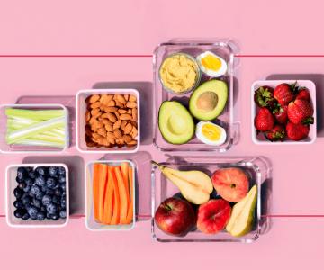 Alimentação saudável trabalhando remotamente: imagem ilustrativa
