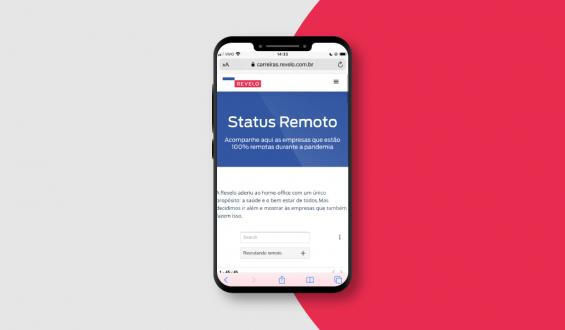 Status remoto: imagem ilustrativa