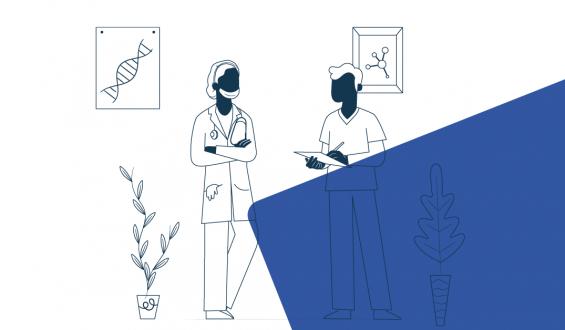 Contrate profissionais de saúde: imagem ilustrativa