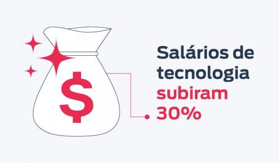 salários da área de tecnologia